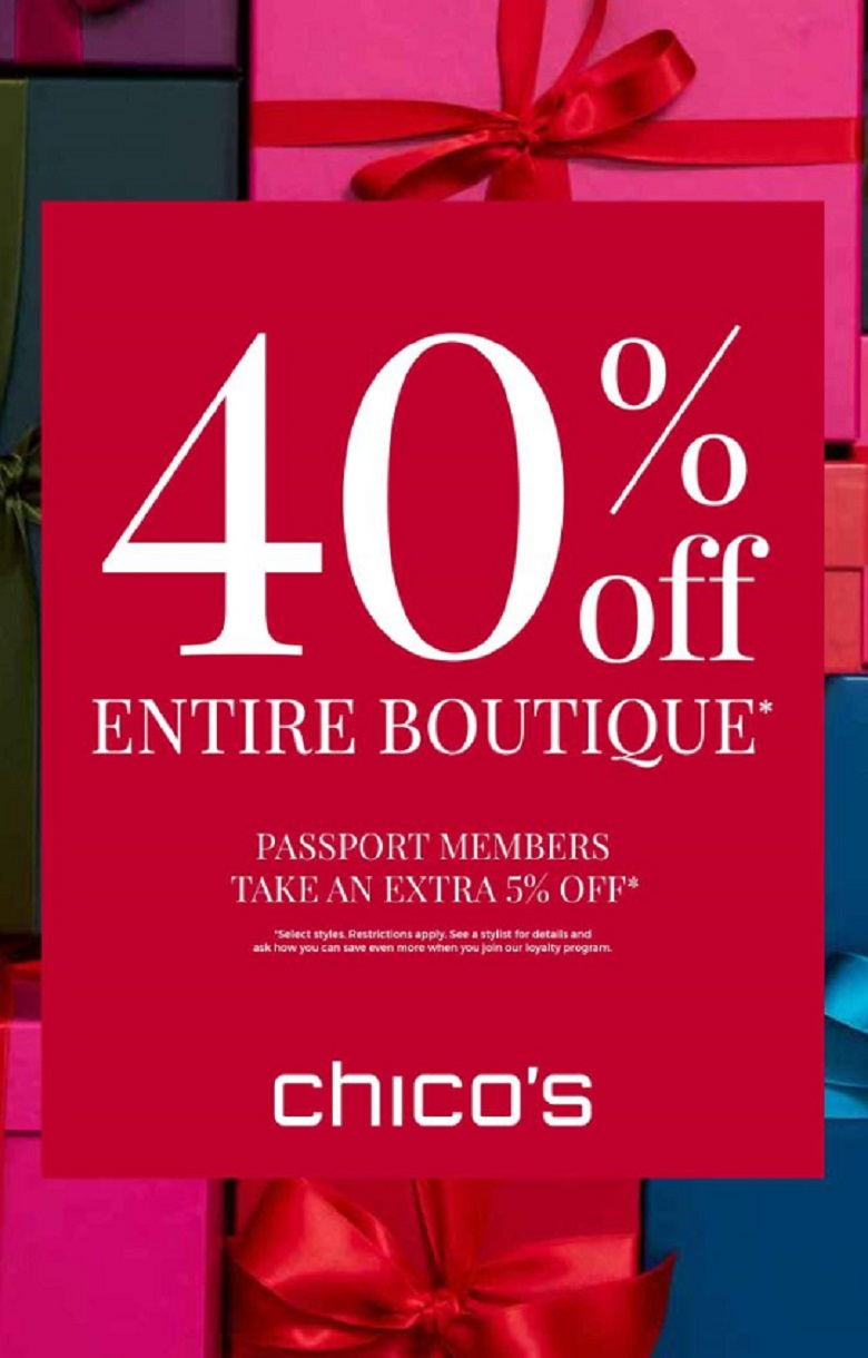 Sale at Chico's