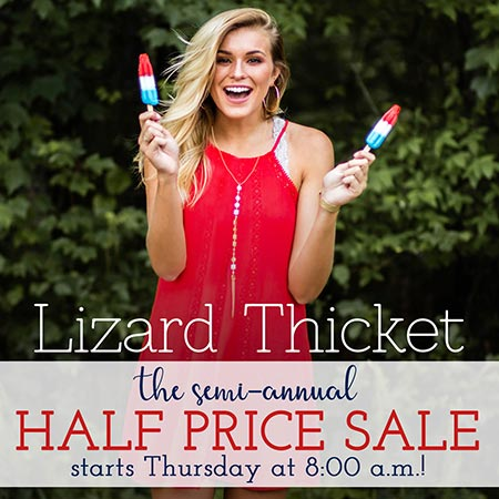 Sale at Lizard Thicket